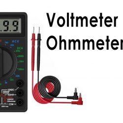Voltmeter dan Ohmmeter