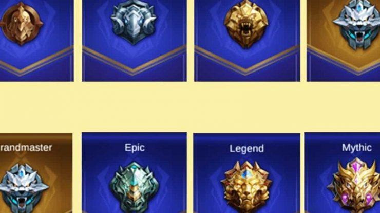 Tingkatan Mobile Legends, Mulai Warrior Hingga Glorious Mythic
